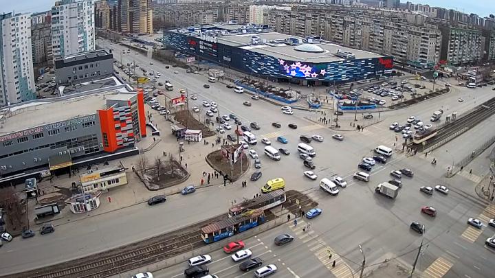 В Челябинске женщина попала под трамвай