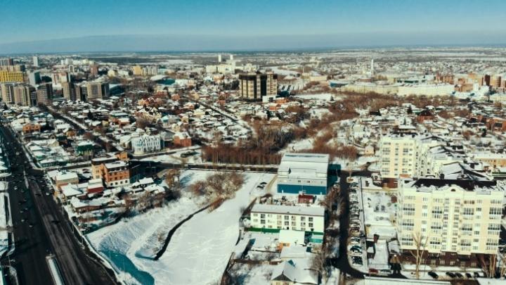 Путин, помоги! Тюменцы попросили президента сохранить лог в центре города