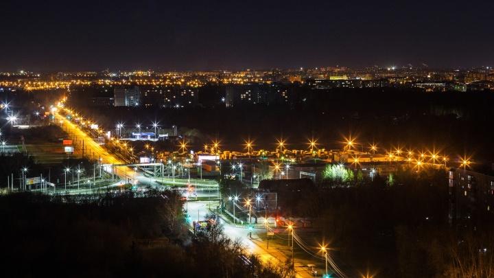 Из-за аварии в центре Омска без электричества остались около тридцати домов