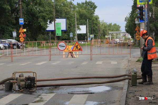 Движение будет организовано по проспектам Советских Космонавтов и Ломоносова. Ограничения продлятся с 29 июля по 2 августа включительно