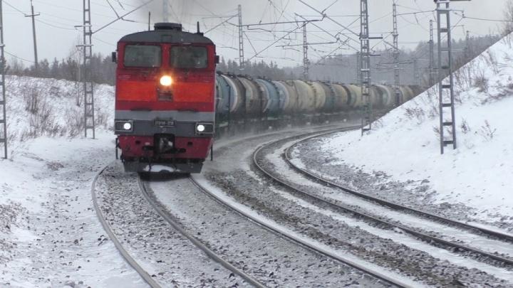 В Прикамье грузовой поезд насмерть сбил 29-летнего мужчину