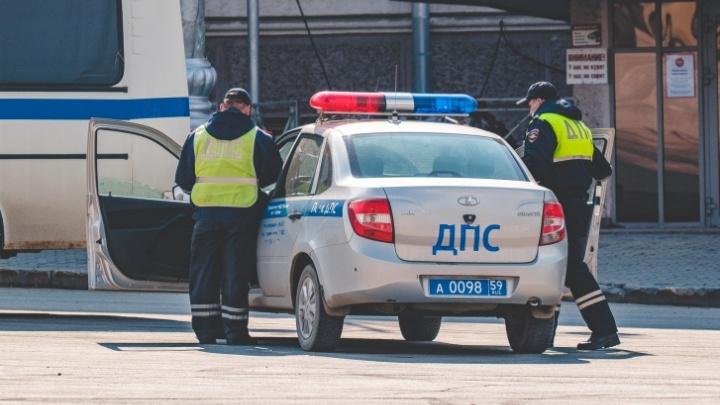В выходные в Перми ГИБДД проведет рейд «Опасный водитель»