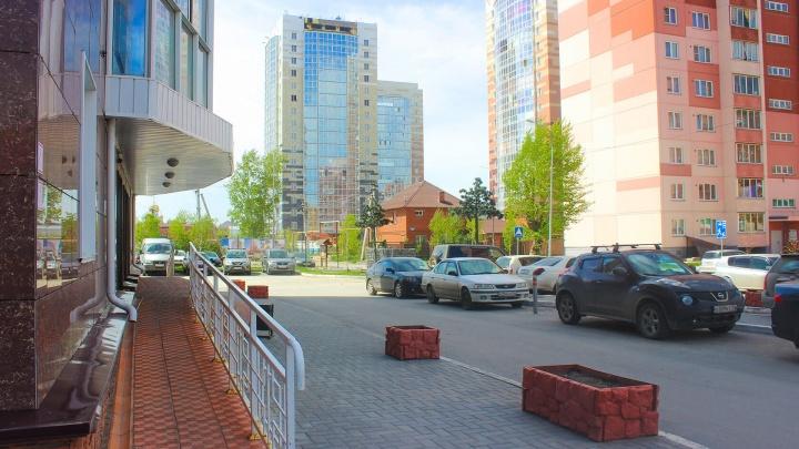 На левом берегу строят жилой комплекс с пальмами и крымскими соснами — проект разработал местный архитектор