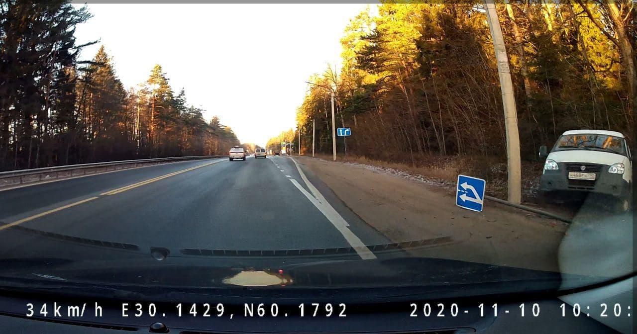ДТП на Выборгском шоссе