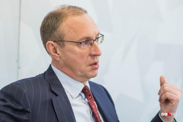 Дмитрий Самойлов в декабре перешел на работу в краевое правительство