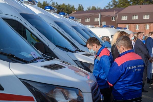Новые машины поедут в больницы области