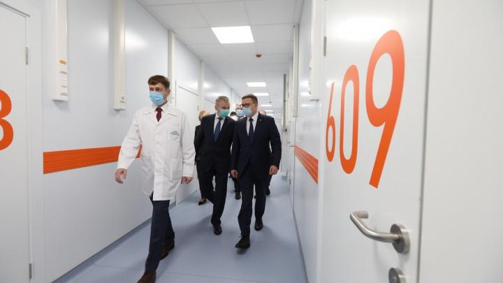 Под Челябинском открыли новую инфекционную больницу. Принимать пациентов там начнут уже в четверг