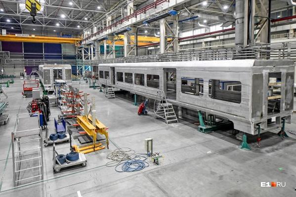 Предполагается, что новые поезда, разработанные на Урале, смогут развивать скорость до 360 км/ч