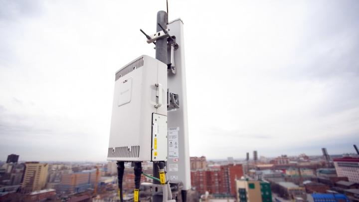 В 20 поселков Новосибирской области пришел 4G-интернет от МегаФона
