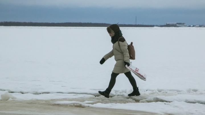 В трёх районах Архангельской области закрылись три ледовые переправы