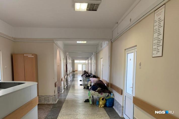 Так 11 мая выглядел четвёртый этаж 11-й инфекционной больницы