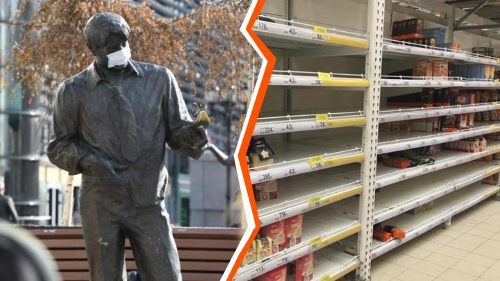 Маски только на Avito: как Екатеринбург готовится к пандемии коронавируса