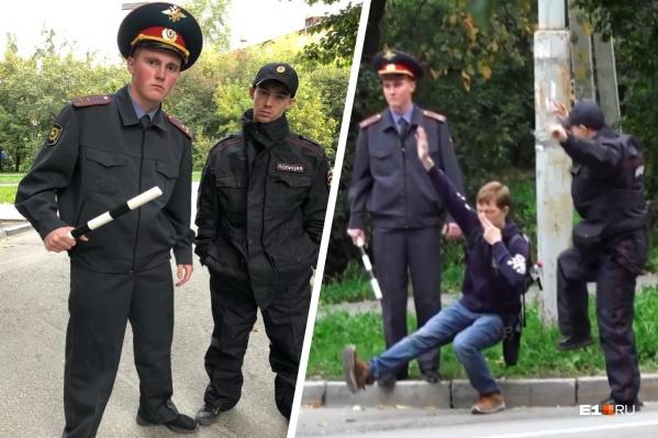 Фейковые полицейские останавливали людей и «проверяли» их, заставляя приседать