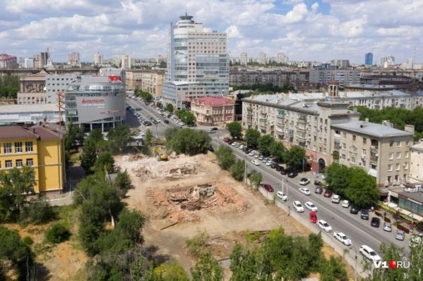 Ансамбль застройки улицы Советской потерял еще часть своей территории