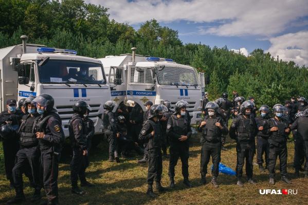 Протесты на Куштау прошли в августе <nobr>2020 года</nobr>