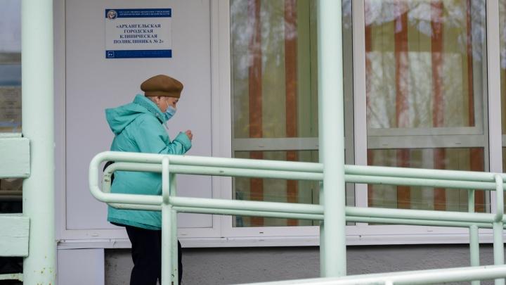 У 6% госпитализированных с COVID-19 жителей Архангельской области болезнь протекает в тяжелой форме