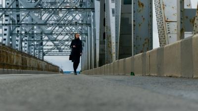 Таким его редко увидишь: фоторепортаж с Северодвинского моста, свободного от машин в час пик