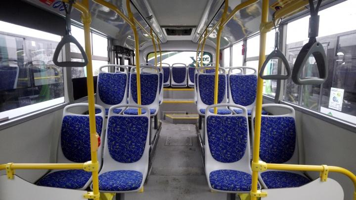 В омских автобусах начали звучать аудиоролики к 75-летию Победы