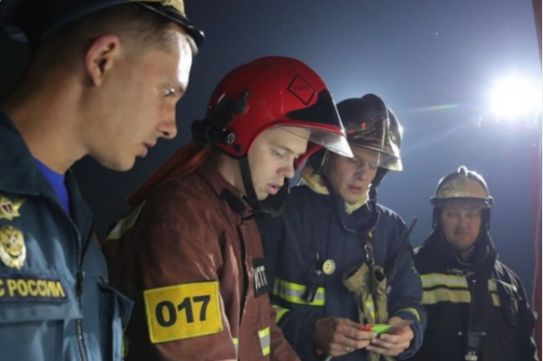 МЧС работало на местах возгораний всю ночь