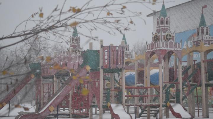 «Уже появились сугробы»: Волгоградскую область заметает снегом
