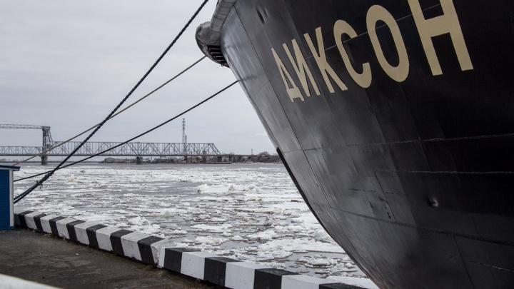 Ледоход в Архангельске прогнозируют не раньше 24 апреля