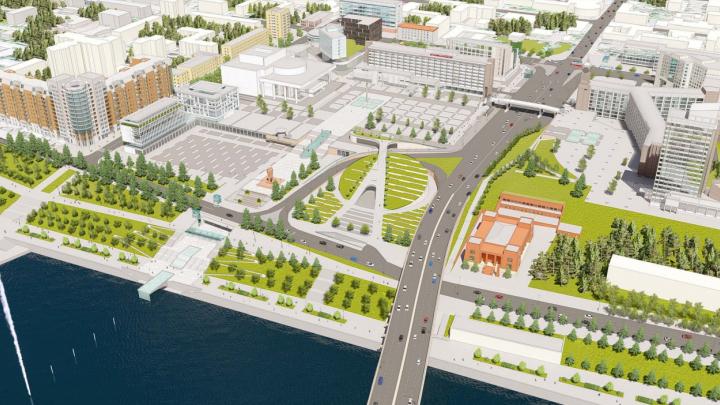 Выбрана лучшая концепция развития Театральной площади