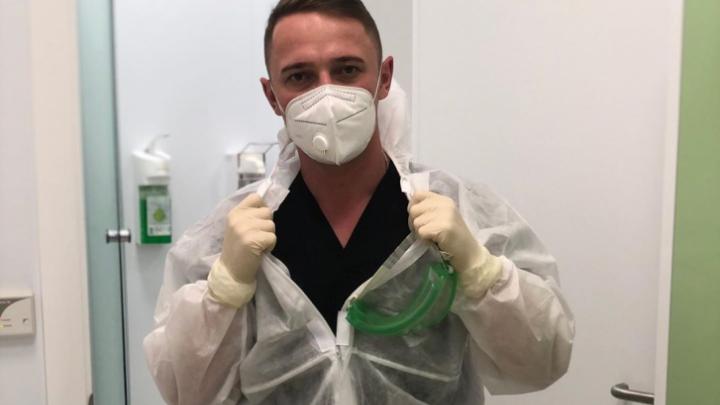 «Записываю видео не для того, чтоб вызвать жалость»: врач из COVID-госпиталя обратился к коллегам с призывом