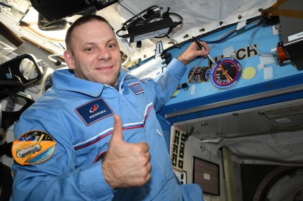 Бортинженер Иван Вагнер — уроженец поселка Североонежск. 9 апреля он впервые отправился на МКС, его первая командировка в космос продлится 200 суток