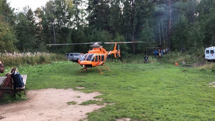 «Она кубарем скатилась с отвесных скал»: спасение туристки из Челябинской области попало на видео