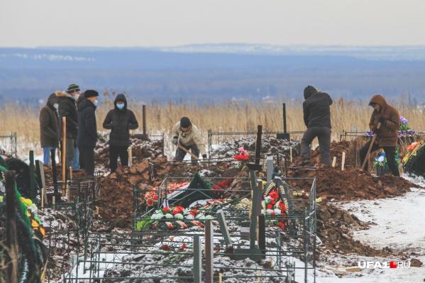 Похоронить усопшего можно только с разрешения властей