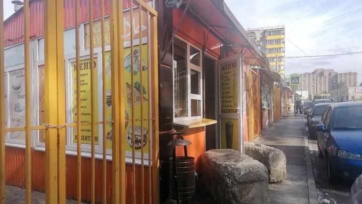 Цирк с камнями: в Ростове радикально закрыли палатку с шаурмой