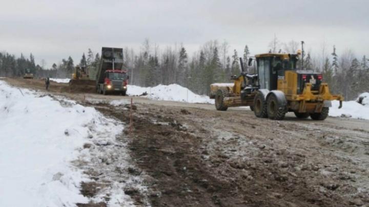 «Севзапдорстрой», строящий дорогу в Нёноксу, заплатил 40 миллионов долга по зарплатам