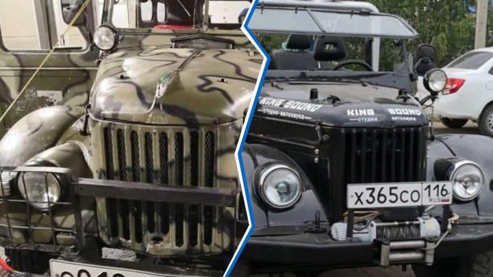 В Челябинске украли антикварные машины московского коллекционера, пригнавшего их на реставрацию