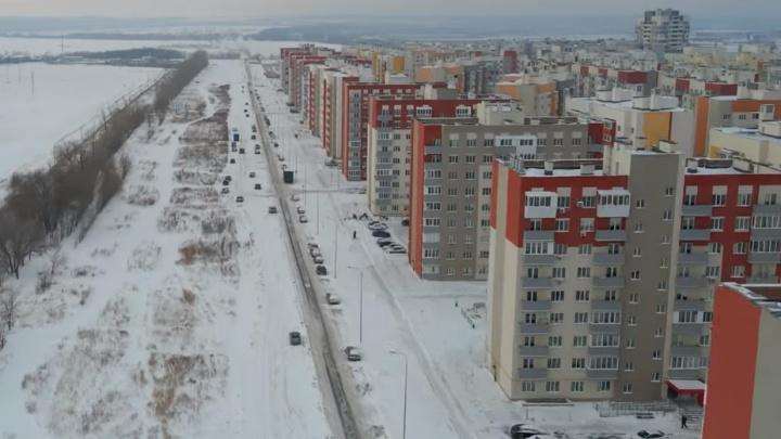 Светофоры и парковка у дороги: как оборудовали выезд из Южного города под Самарой