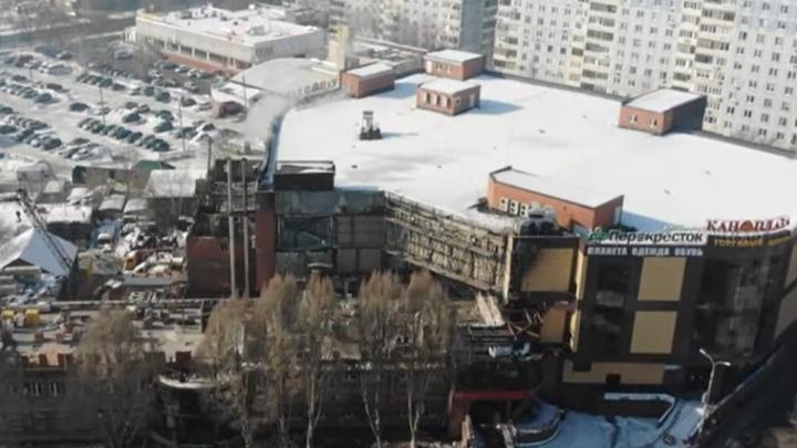В Самаре ресторан «Золотая пагода» восстанавливают после крупного пожара