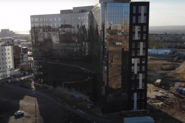 Здание планируют открыть через месяц