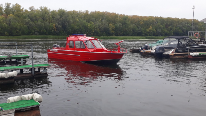 Лесникам Самарской области купили пожарный катер