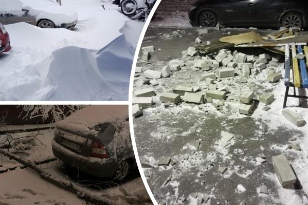 Смотрите, что натворила разбушевавшаяся непогода в Тюмени<br>