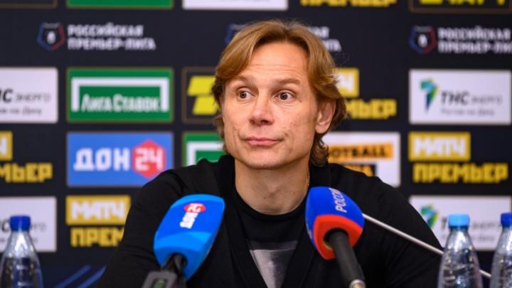 Валерий Карпин — о карантине, первом заразившемся в «Ростове» и отказе «Сочи» переносить игру