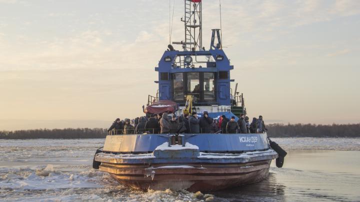 Власти Архангельска заключили контракт на перевозку жителей островов в период ледостава