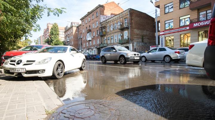 Ученые института РАН выяснили, откуда в Ростове берется грязь