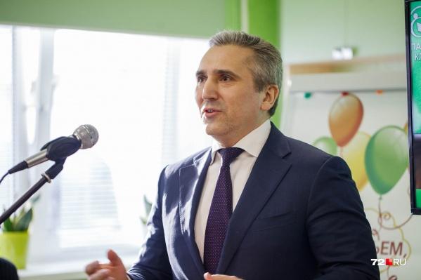 В правительстве Тюменской области заявили, что письма, которые рассылаются якобы с подписью Александра Моора, — фейк