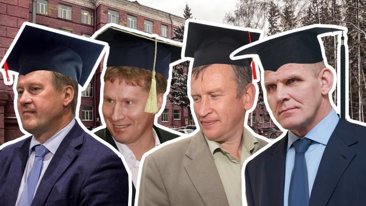 В каких вузах учились самые богатые чиновники Новосибирска? Любопытная инфографика