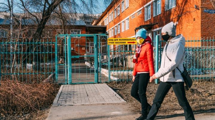 В Омске коронавирус подозревают у ещё одного пациента инфекционки