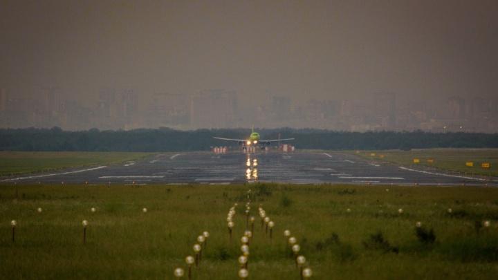 Из-за тумана самолёт из Якутска приземлился в Кемерово