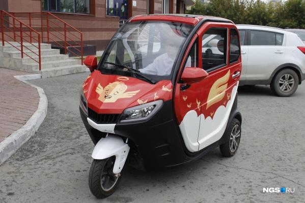 А вы бы рискнули сесть за руль такой машины?