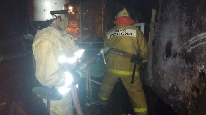 Пожар в одном из поселков Башкирии унес жизнь женщины