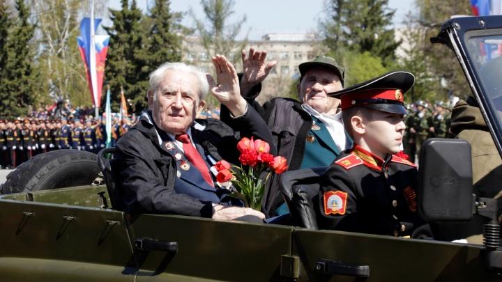 Омским ветеранам к юбилею Победы подарят подстаканники за полторы тысячи