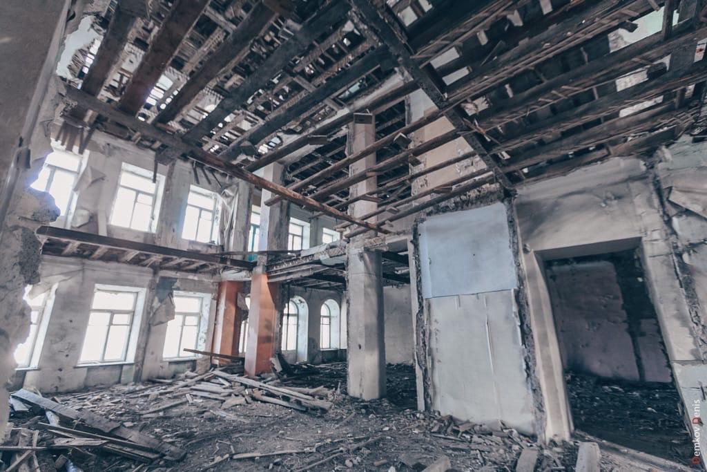 Изнутри «Московская» выглядит так