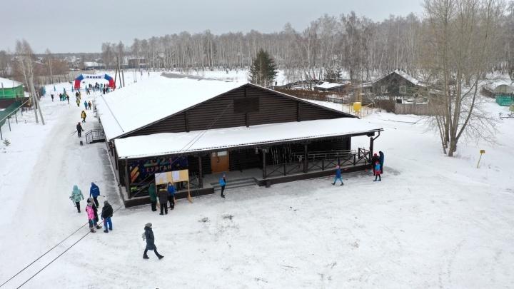 Общие затраты — свыше 26 миллионов рублей: в Кургане открыли новую лыжную базу